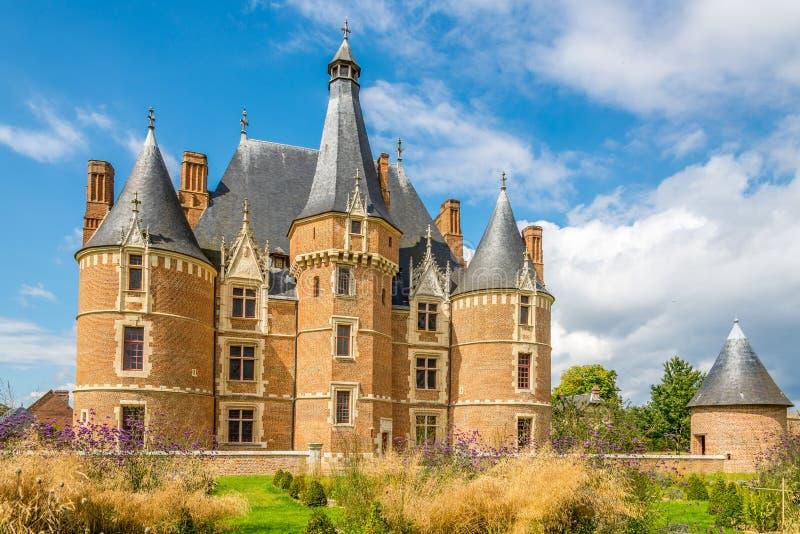 Château Martainville avec la tourelle photo libre de droits