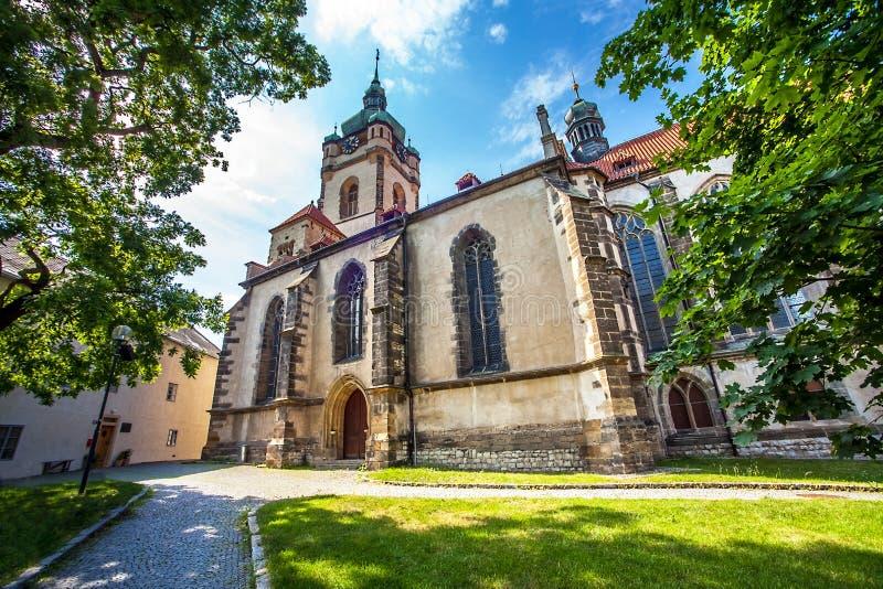 Château Melnik en Bohême images stock