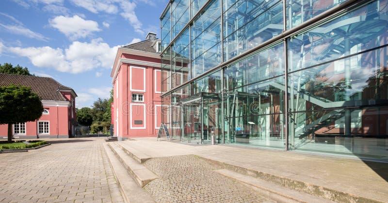 Château Oberhausen Allemagne images libres de droits