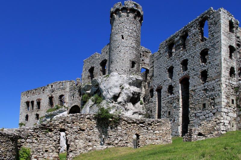 Château Ogrodzieniec photos libres de droits