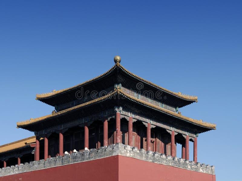 Download Château oriental image stock. Image du fond, beijing, gong - 8656391