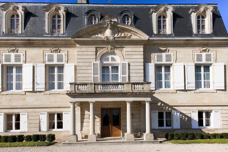 Château Pontet Cannet, Bordeaux photographie stock