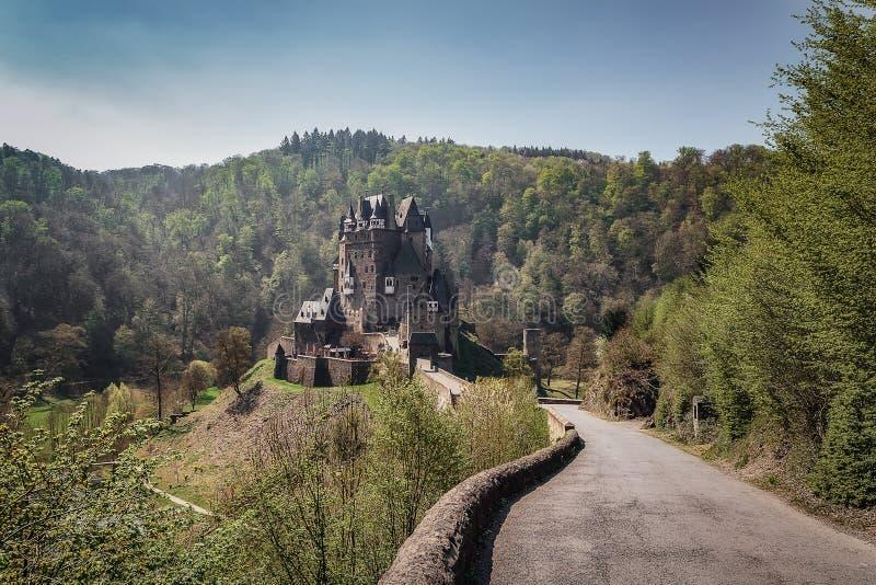 Château rêveur Eltz photos libres de droits