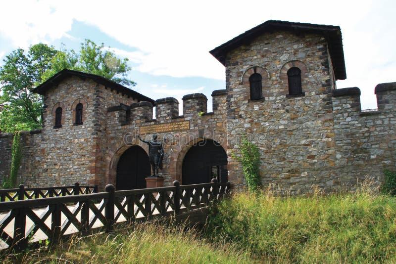 Château romain Saalburg photographie stock libre de droits