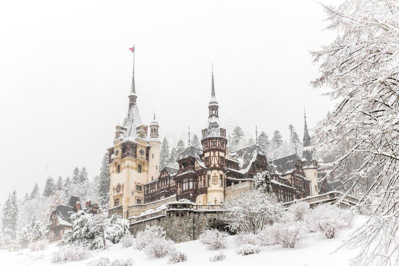 Château Roumanie de Peles photographie stock libre de droits