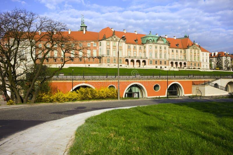 Château royal à Varsovie images libres de droits