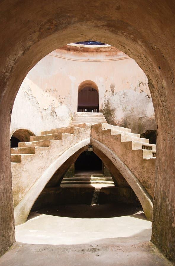Château royal Borobudur photos stock
