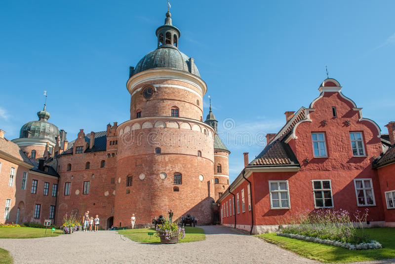 Château royal historique photos stock