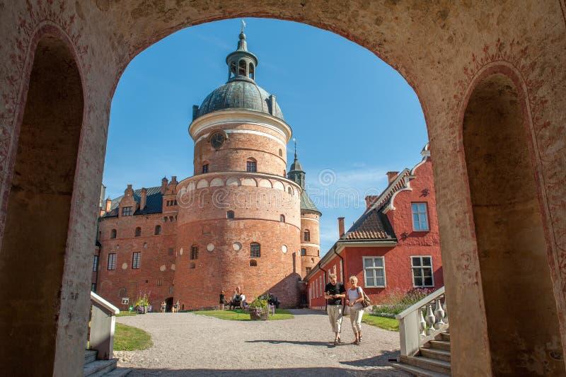 Château royal historique photo stock