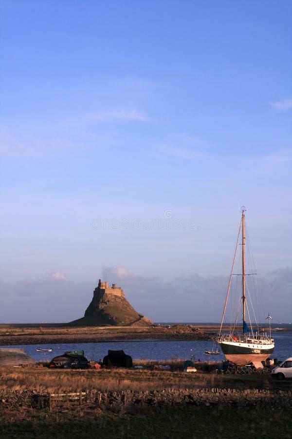 Château saint d'île photo stock