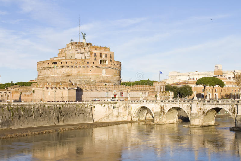 Château Sant Angelo photos libres de droits