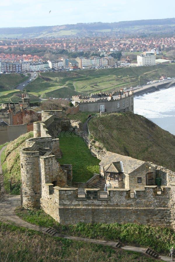 château scarborough images libres de droits