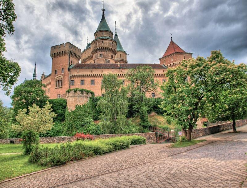 Château Slovaquie de Bojnice image stock