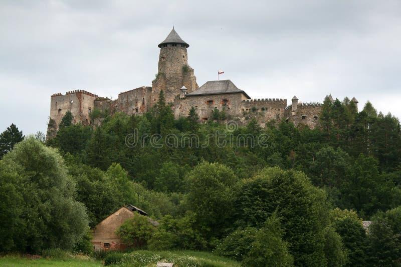Château - Stara Lubovna photo stock