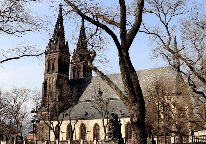 Château supérieur, Prague image libre de droits
