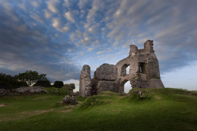 Château Swansea de Pennard photo libre de droits