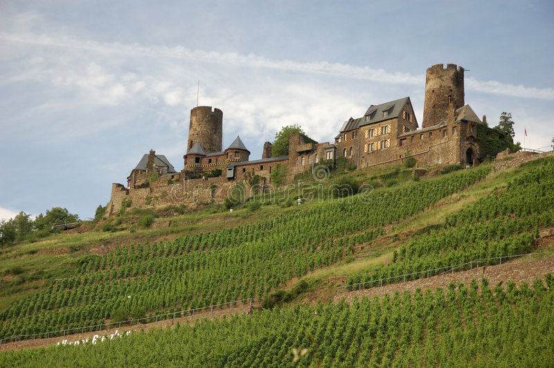 Château Thurant en Rhénanie, G photos stock