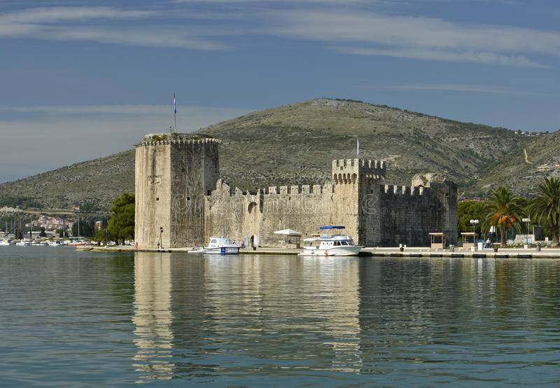 Château Trogir photos libres de droits