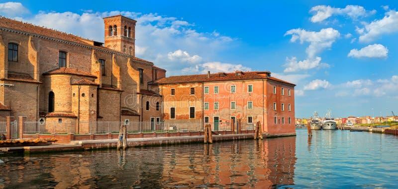 Château vénitien dans Chioggia, Venise, Italie image stock