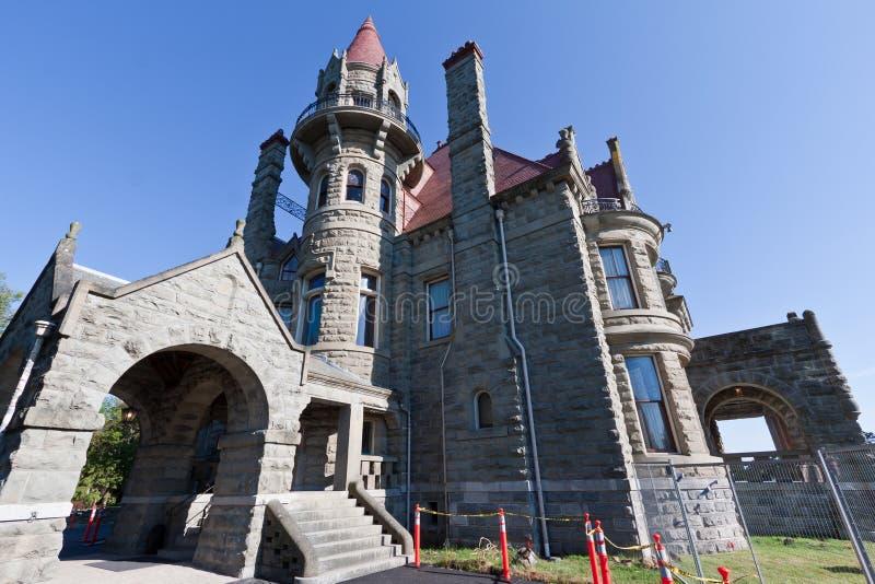 Château Victoria Canada de Craigdarroch photo stock