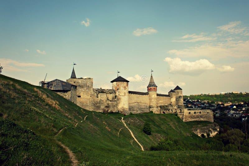 Château Voyage Architecture l'ukraine nature Paysage photos stock