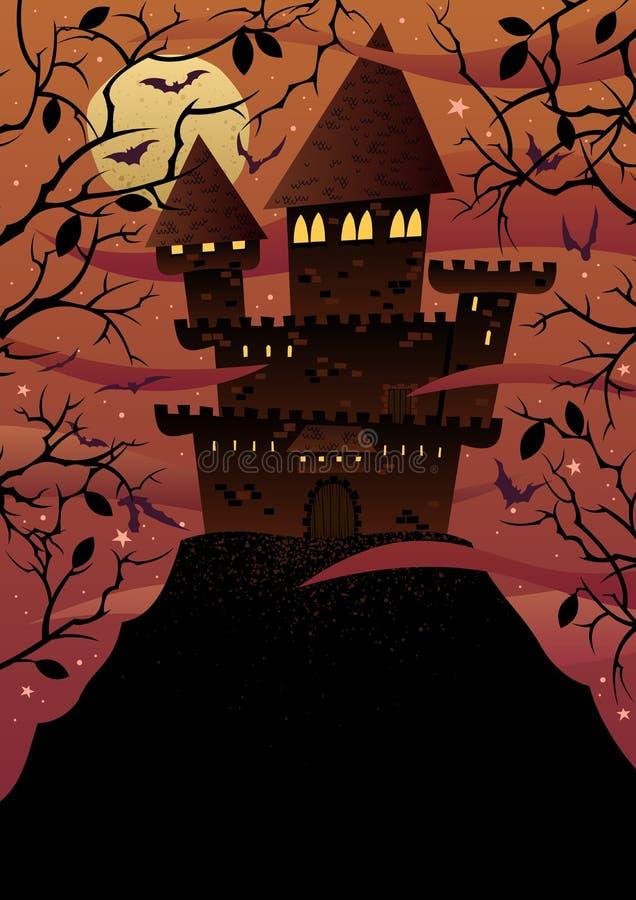 Châteaux fantasmagoriques illustration libre de droits