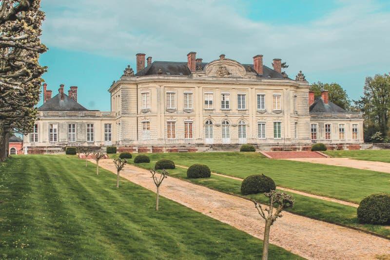 Châteaux de la Loire, Loire Valley, Château de Craon arkivbild