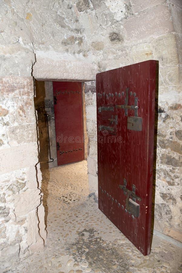 Château-d'If Gefängniszelle lizenzfreies stockbild