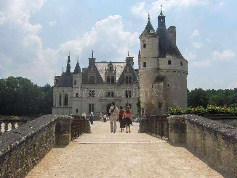 Château de Chenonceau, el Loira, Francia imagenes de archivo