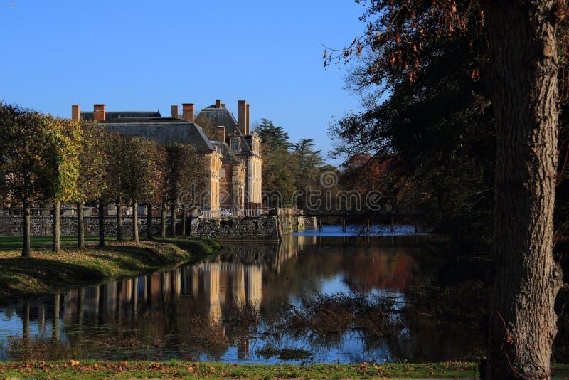 Château de la Ferte, Francia immagini stock libere da diritti