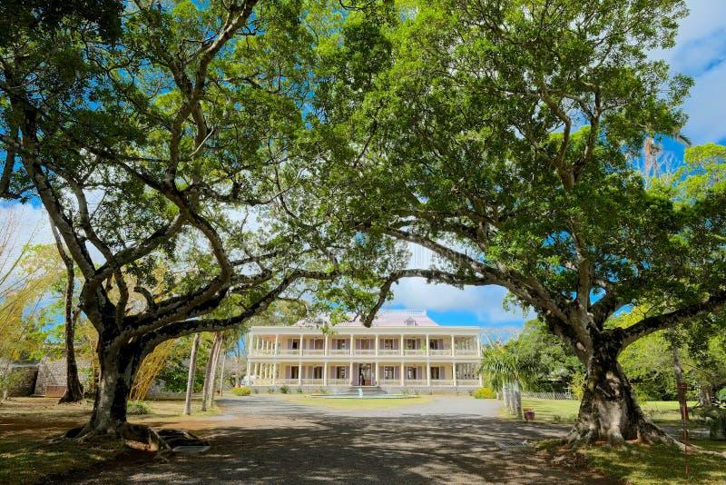 Château de Labourdonnais, Îles Maurice photos stock