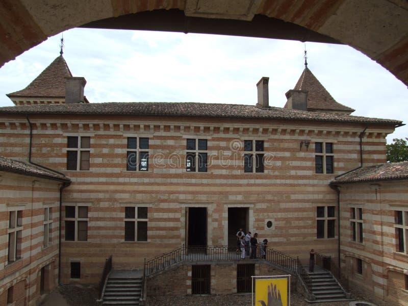 Château de Laréole - Γαλλία στοκ εικόνα