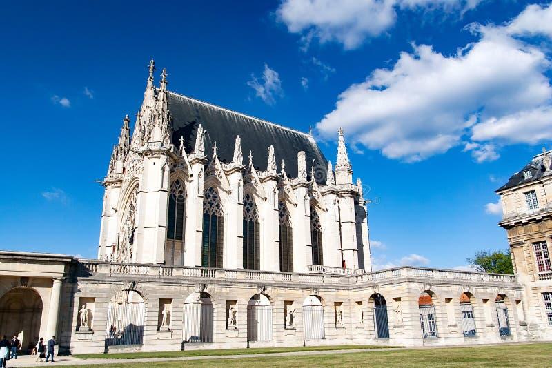 Château de Vincennes Paris, Frankreich lizenzfreies stockbild