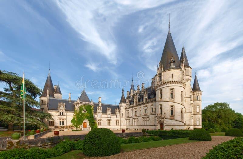 Château du Nozet - Pouilly-sur-Loire imagem de stock