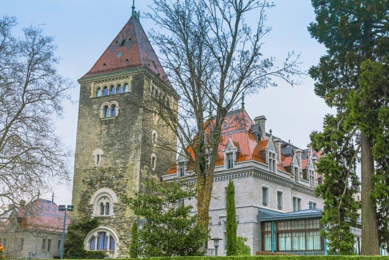 Château δ ` Ouchy στοκ φωτογραφία με δικαίωμα ελεύθερης χρήσης