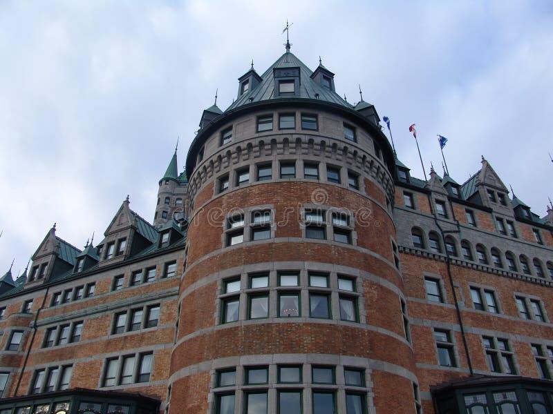 Château Quebec royaltyfria bilder