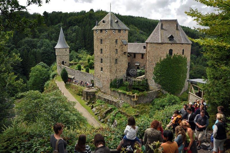 Château Reinhardstein royaltyfri foto