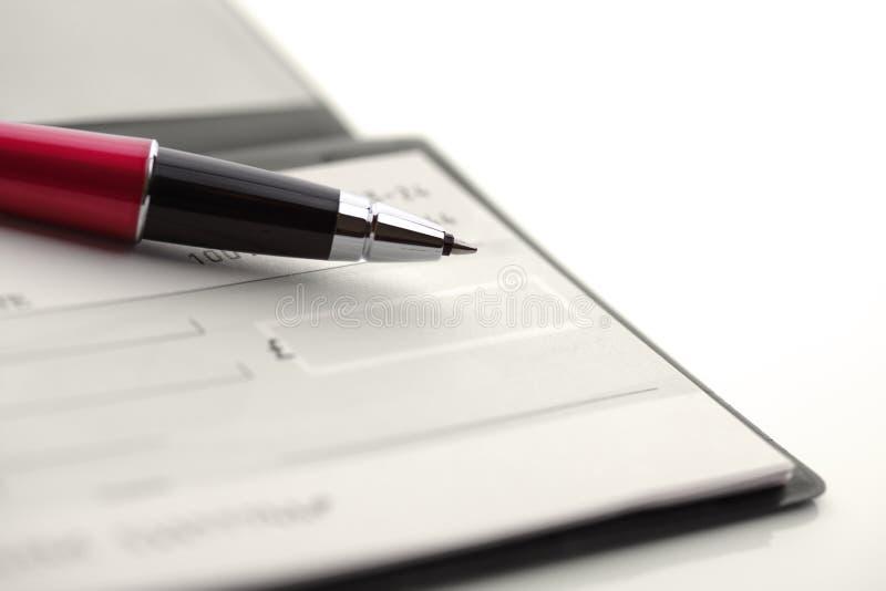 Chèque images libres de droits