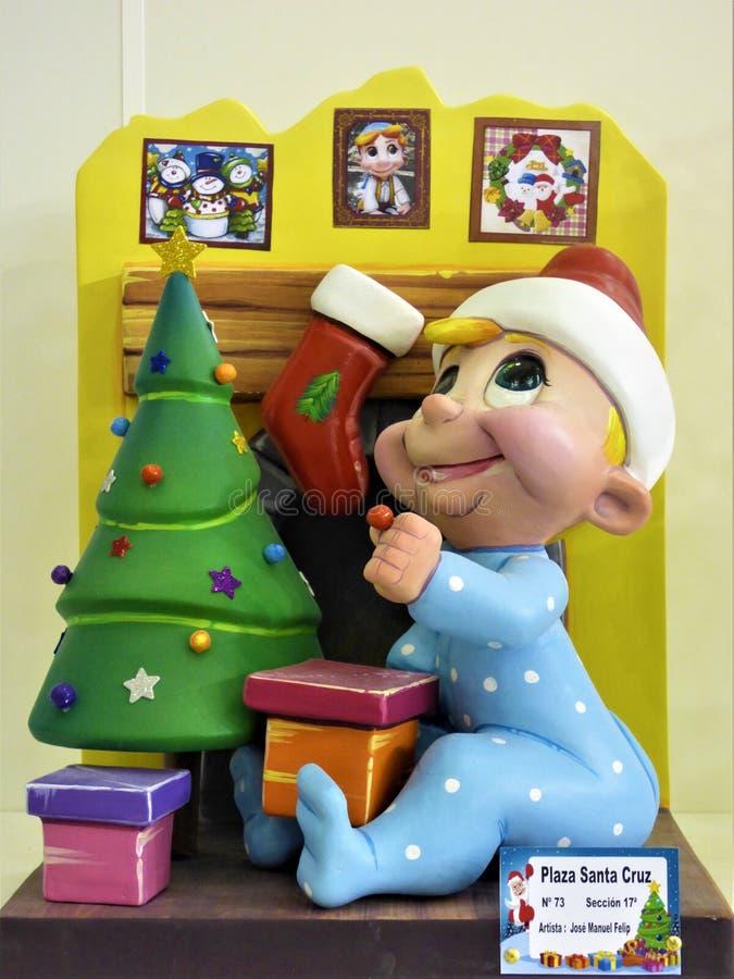 Chère Santa, ` VE d'I été garçon très bon d'A images stock