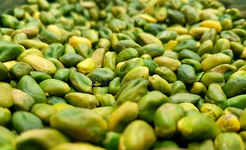 Chères pistaches photographie stock libre de droits
