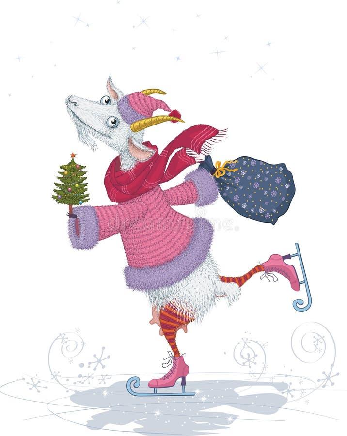Chèvre illustration stock