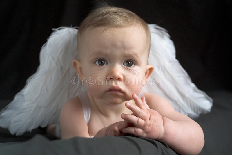 Chéri d'ange photo stock