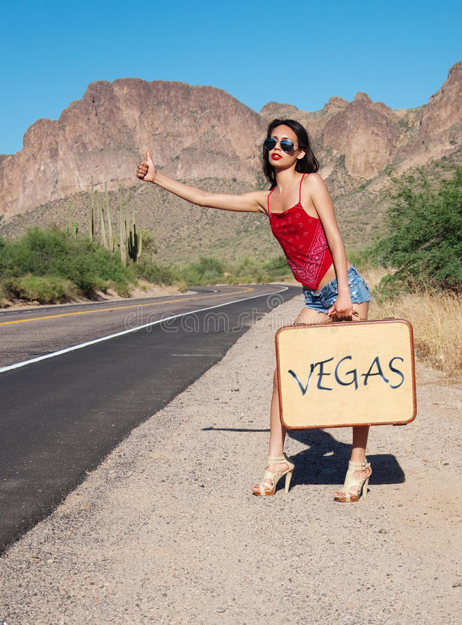 Chéri de Vegas photographie stock