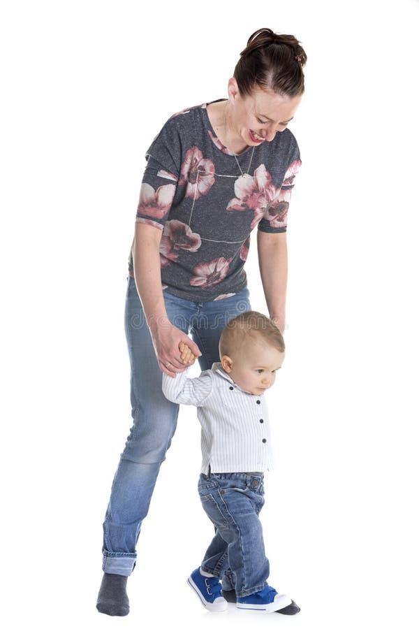 Chéri et mère images stock