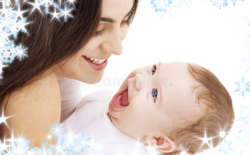 Chéri et maman photo stock
