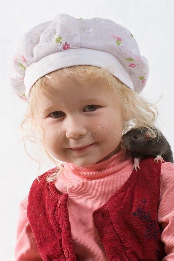 Chéri et rat images stock