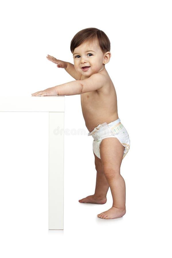 Chéri mignonne sans compter qu'un Tableau photographie stock libre de droits