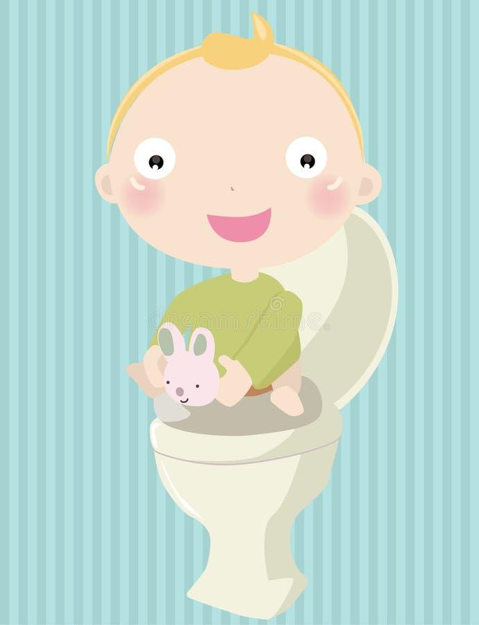 Chéri Potty illustration de vecteur
