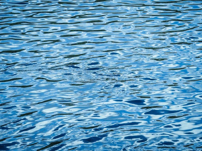Chłodno błękitne wody wzory obraz royalty free