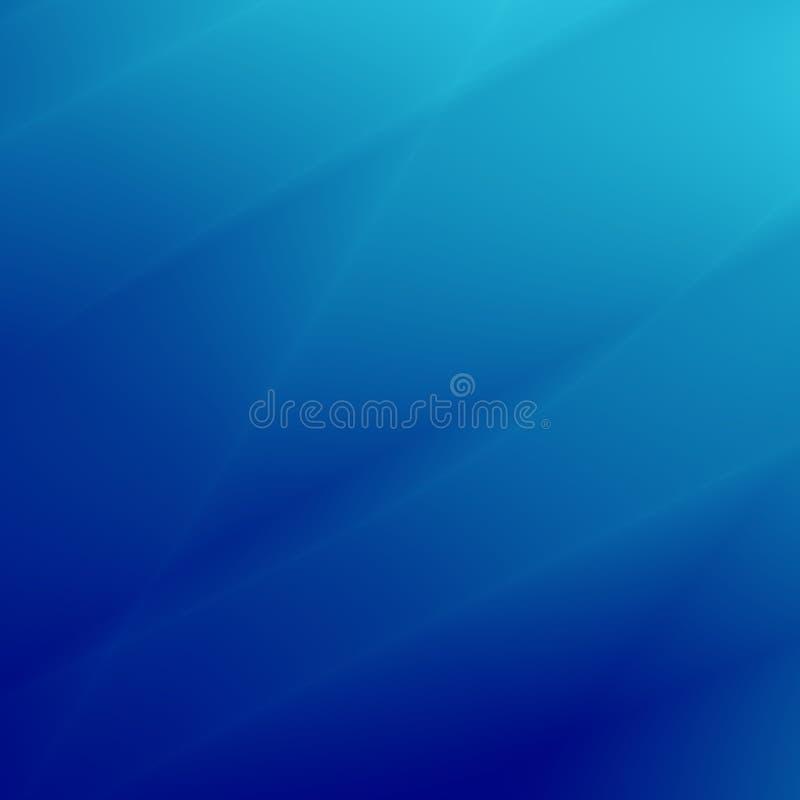 Chłodno błękitny tło z liniami ilustracja wektor